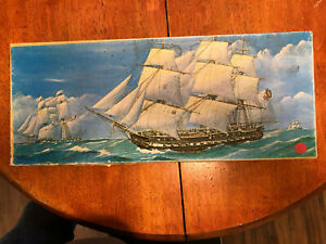 Sterling Models USS Constitution Wood Ship Model.