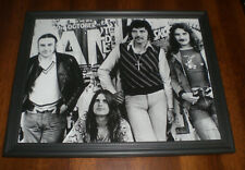 1970 Black Sabbath Framed B&W Print