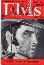 ELVIS 119 ANNEE 1969 (EN ANGLAIS) MYTHIQUE TRES RARE SUPERBES PHOTOS TBE