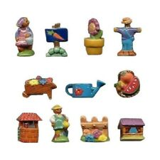 Fèves de collection en porcelaine _ Coté jardin _ Série complète 11 Feves