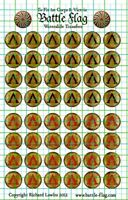 50 Hoplite Shield Waterslide Decals / Transfers for Victrix Spartan Plastics Set