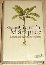 NEU, OVP - Gabriel Garcia Marquez - LEBEN, UM DAVON ZU ERZÄHLEN - gebunden