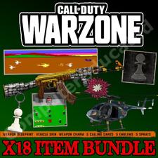 COD Modern Warfare Warzone Weapon Blueprint Charm Calling Card Emblem Spray DLC