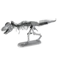 Fascinations Metal Earth 3D Laser Cut Steel Model Kit Tyrannosaurus Rex Skeleton