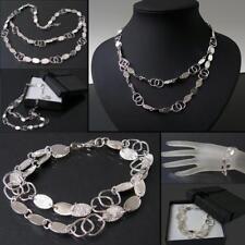 Collier Kette 925 Silber Armband Sterlingsilber Armkette Halskette Schmuck VE26