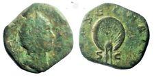 RARE-Diva Mariniana.Rome. Ancient Roman AE Sestertius