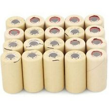 20x High Drain 10C Sub C NICD SC2200mAh Rechargeable Batteries Flat Top PKCELL