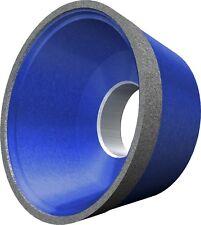 Meule en Diamant / Meule Diamantée 11V9 -70° ISO9001 75 Jusqu'à 150 Mm