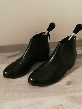 Alfred sargent Black Chelsea Boots made in England Size 6.5
