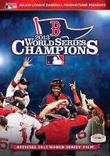 MLB: 2013 World Series Champions (DVD, 2013, New) Boston Red Sox Film