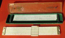 Rechenschieber Rechenstab Faber Castell Slide Ruler Hülle 32 cm Novo Duplex 2/83