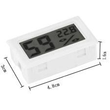 Termometro Mini Igrometro Digitale LCD Display Tester Umidità Temperatura Bianct