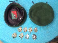 Fremdenlegion, Legion Etrangere, French Foreign Legion, Barett mit Abzeichen