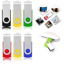 USB Memory Stick USB2.0 Stick Pack Flash Drive Swivel Photo Memory Stick U Disk