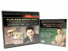 Armando Montelongo Flip And Grow Rich Foundation Find Fund Fix Flip Audio CD DVD