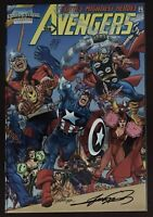 Marvel Collectible Classic Avengers #1 Variant 1998  Special Chrome Comic Book
