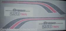 Honda CB250T sueño restauración DECAL set