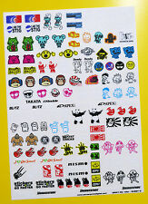 RC 10th scale DRIFT STICKERS decals DRIFTING JDM HUGE CLEAR VINYL PRE CUT SET 2