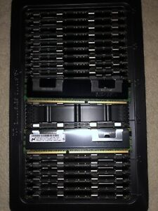New Micron PC3-10600R DDR3 RDIMM 2Rx4 4GB Memory RAM with ECC MT36JSZF51272PZ
