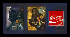 1977 STAR WARS - BURGER CHEF ☆ COCA-COLA ☆ Translite MOVIE POSTER DISPLAY! RARE!