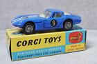 Corgi 324 Marcos 1800 G.T with Volvo Engine Blue White Original Very Nr Mint Box