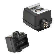 Flash Hot/Cold Shoe Adapter ISO to Sony/Maxxum Camera SLR Photo Studio Speedlite