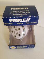 Peerless 5-Setting Shower Head .LIFETIME WARRANTY.