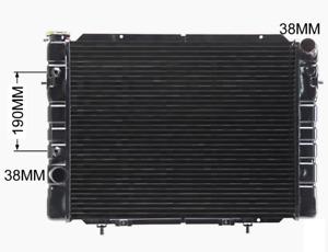 Radiator For Holden Commodore VB VC VH VK 4.2L 5L V8 Auto Man 78-86 Adrad Copper
