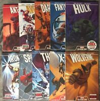 MARVEL SEASON ONE SET OF 10 HARDCOVER BOOKS! AVENGERS THOR HULK WOLVERINE X-MEN