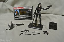 G.I JOE COBRA 50TH ANNIVERSARY BARONESS CLASH 100%  COMPLETE ACTION FIGURE