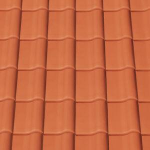 Tondachziegel Creaton MAGNUM Dachziegel Dach Ton-Ziegel Dachpfannen Muster