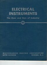 Westinghouse -  Electrical Instruments - The Eyes And Ears Of Industry - Booklet