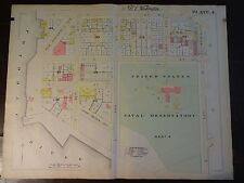 1892 Map of Nw Dc - Potomac River to 23rd-Rare large property specific detail.