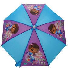 Paraguas de niña de color principal azul