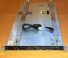 HP DL360P GEN8 SERVER 2X E5-2690 @2.90GHz CPU 128GB RAM P420i 2GB 3X600GB 2X1TB