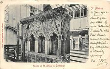 BR59318 st albans shrine of st alban in cathedral postcard  uk