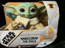 """Hasbro 7.5"""" Star Wars The Child Baby Yoda Talking Plush Toy"""