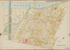1908 JERSEY CITY,HUDSON COUNTY,NEW JERSEY W58TH ST TO LINDEN AV ATLAS MAP