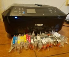 All In One Inkjet Printer Copy Scan Fax DVD Wireless Canon PIXMA MX922 + Ink