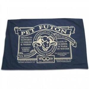 Snooza Organic Pet Futon Mighty Blue