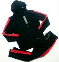 ETERNITY BC/AD Black/RED men 2p set HOODIE & PANTS 100%AUTHENTIC size LARGE
