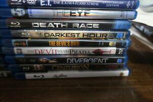 Blu-Ray Movies - $5.99 Each - FREE SHIPPING