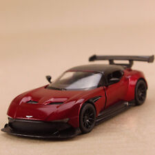 2015 Model Car Aston Martin Vulcan Red 13cm SCALE 1:38 Pull Back Die Cast Opens