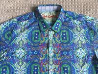 ROBERT GRAHAM 2XL Colourful Paisley Shirt - Bright!