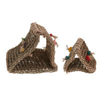 """PARROT Toy PARTS 3 pack Natural Seagrass Mat Small 12/"""" x 7/"""" x 1//2/"""" SG006"""