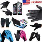Men Women Winter Touch Screen Windproof Waterproof Outdoor Sport Driving Gloves~