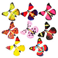 1Pc Card Magic Flying out Butterfly Surprise Magic Props Mystical Trick Toy G JC