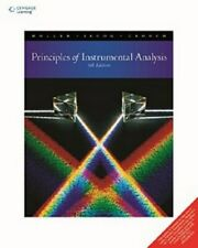 New: Principles of Instrumental Analysis by Skoog and Holler 6th INTL ed