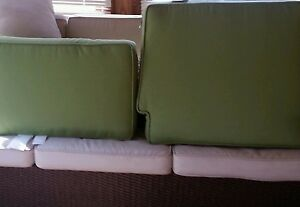 Pottery Barn Chatham occasional Chair cushions Jade