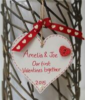 Personalised Handmade Valentines Gift Plaque first Key to my Heart FOR HER HIM C